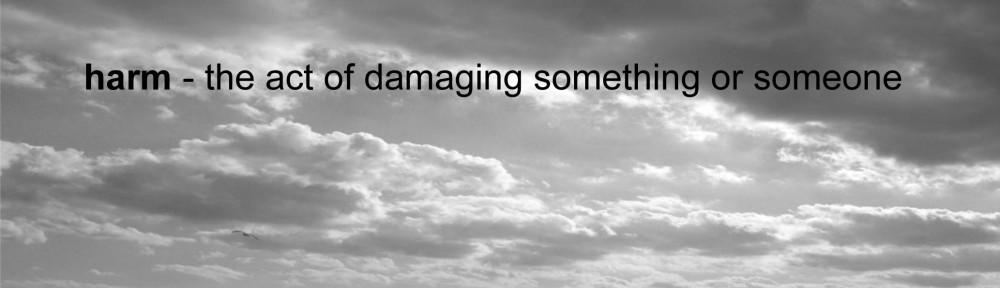 Considering Harm